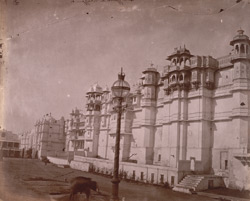 East façade of the City Palace, Udaipur